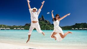 Свадебная фотосессия в отеле Le Meridien Bora Bora 5* (Vincent Brossault)