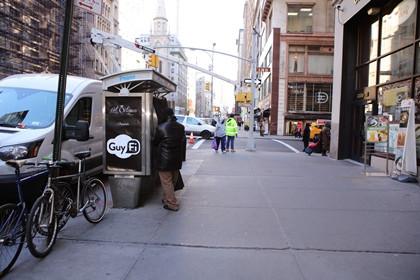 В центре Нью-Йорка появилась кабинка для мастурбации