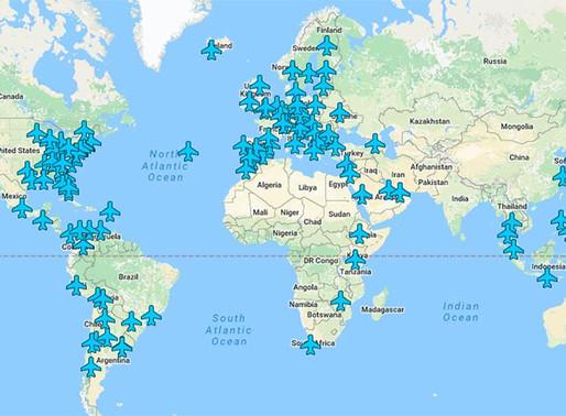 Wi-Fi пароли аэропортов всего мира на одной карте