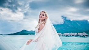 Vlad & Marina - свадебная фотосессия в отеле Four Seasons Resort Bora Bora 5* (Helene Havard)