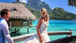 Свадебная фотосессия в отеле Sofitel Bora Bora Private Island 4* (Edouard Ott)