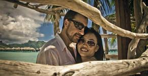 Свадебная фотосессия в отеле Intercontinental Bora Bora Resort & Thalasso Spa 5* (Vincent Brossa