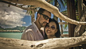 Свадебная фотосессия в отеле Intercontinental Bora Bora Resort & Thalasso Spa 5* (Vincent Brossa