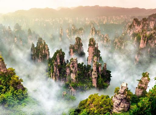 Горы Хуаншань, Китай