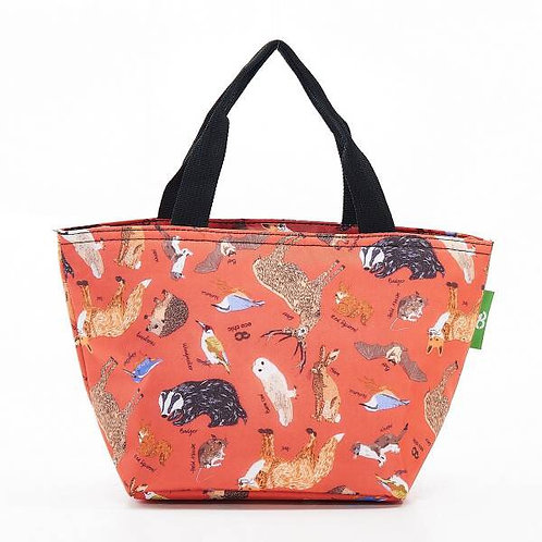 Eco Chic Woodland Animals Lunch Bag