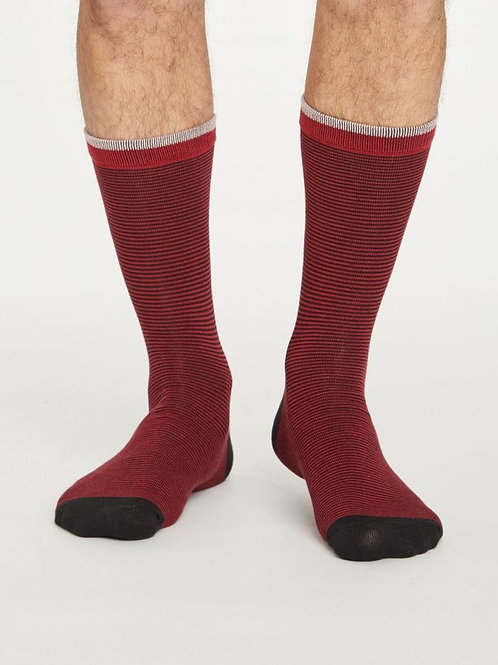 Thought Bamboo  Sten Stripe Socks