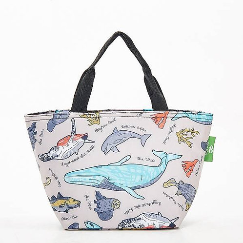 Eco Chic Sea Creatures Lunch Bag
