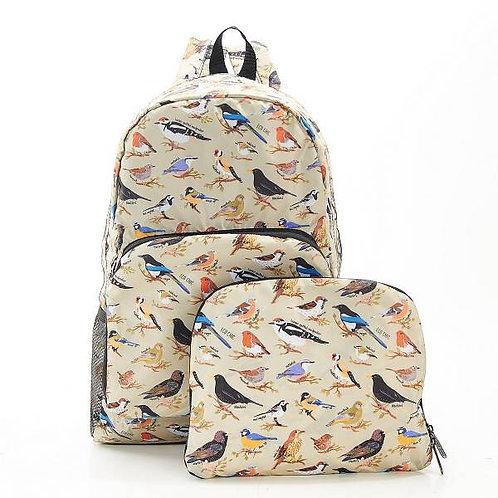 Eco Chic Wild birds Backpack