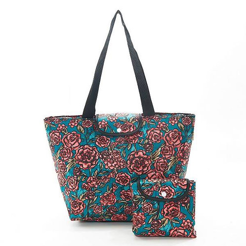 Eco Chic Roses Large Cool Bag