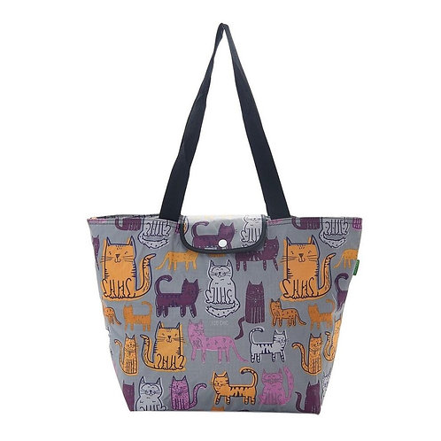 Eco Chic Cats Large Cool Bag