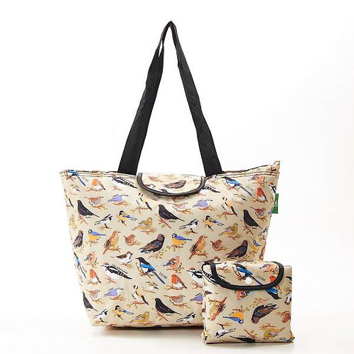 Eco Chic Birds Large Cool Bag