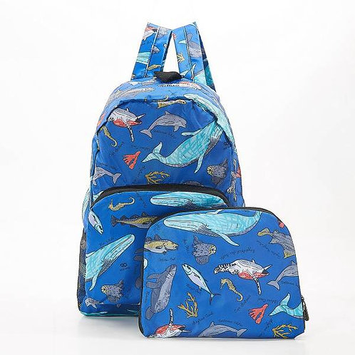 Eco Chic Sea Creatures Backpack
