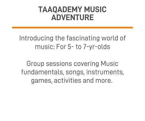 Taaqademy Music Adventure