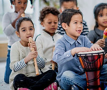toddlers taking music classes