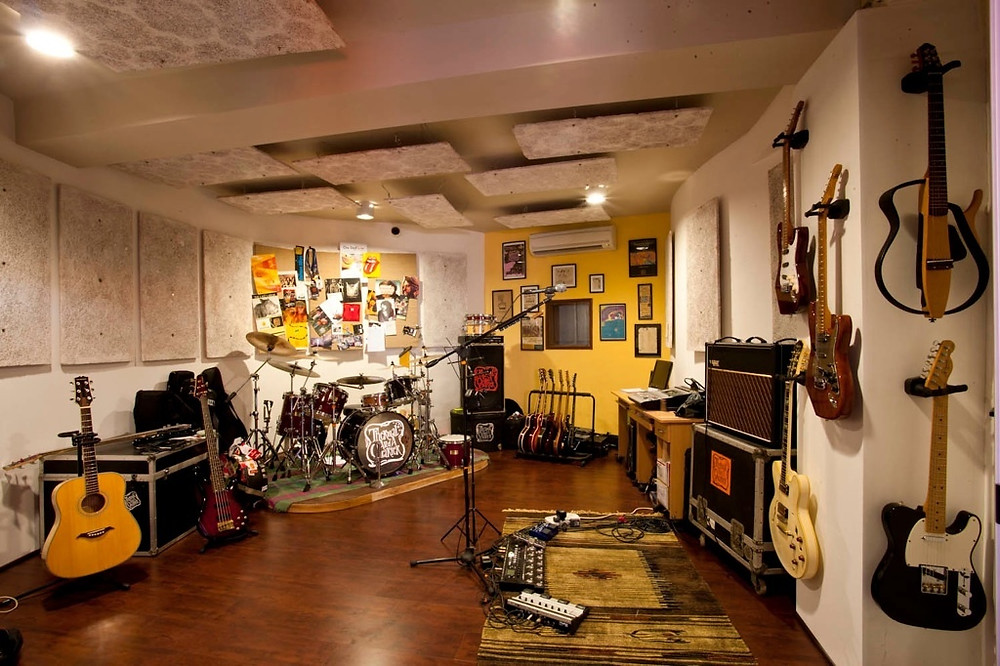 Taaqademy Jam Rooms