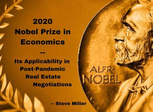 2020 Nobel Econ Prize Reveals Negotiating & Price Discovery Methods
