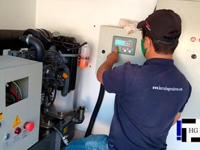 Instalação de gerador de energia Yanmar em São Sebastião da Grama