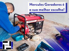 A Hercules Geradores é a sua melhor escolha!