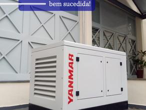Instalação de gerador Yanmar 22 KVA em São Paulo