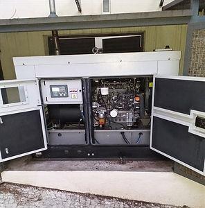 Upgrade de gerador de energia com controlador AMF 25 realizado pela Hercules Geradores Assistência Técnica.