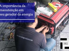 Você sabe a importância da manutenção do seu gerador?