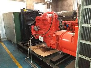 Gerador de energia consertado pela Hercules Geradores Assistência Técnica.