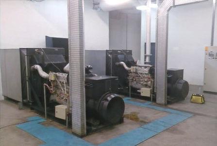 Geradores de energia do Túnel Max Feffer (São Paulo) após manutenção preventiva da Hercules Geradores.