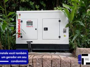 Instalação de gerador Yanmar em São Paulo