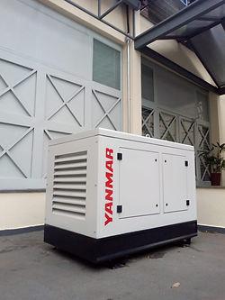Gerador de energia Yanmar instalado pela Hercules Geradores.