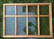 Стекло для деревянного окна