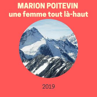 Marion Poitevin, une femme tout-là haut.