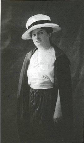 Portrait d'Alice Milliat (DR)