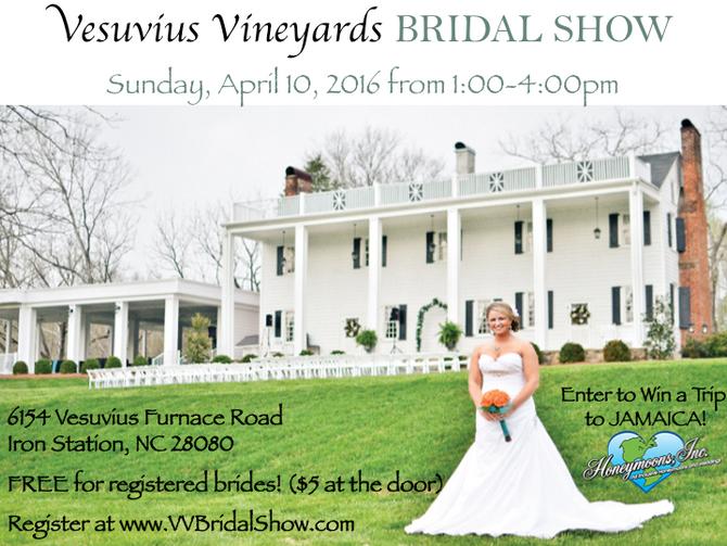 Vesuvius Vineyards Bridal Show
