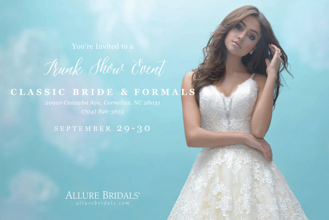 Allure Trunk Show - September 29 - September 30, 2017
