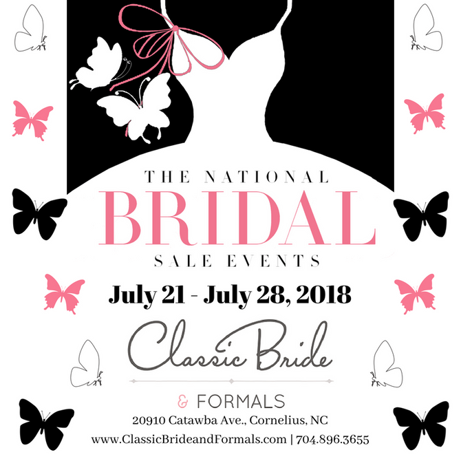 The National Bridal Sale Event - July 2018