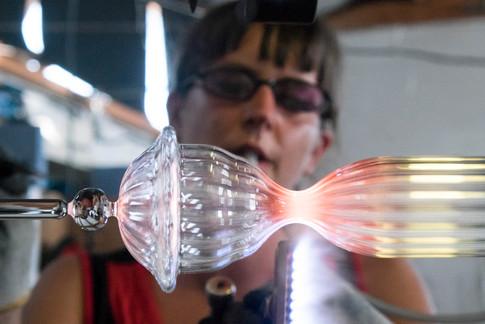 Souffleuse de verre