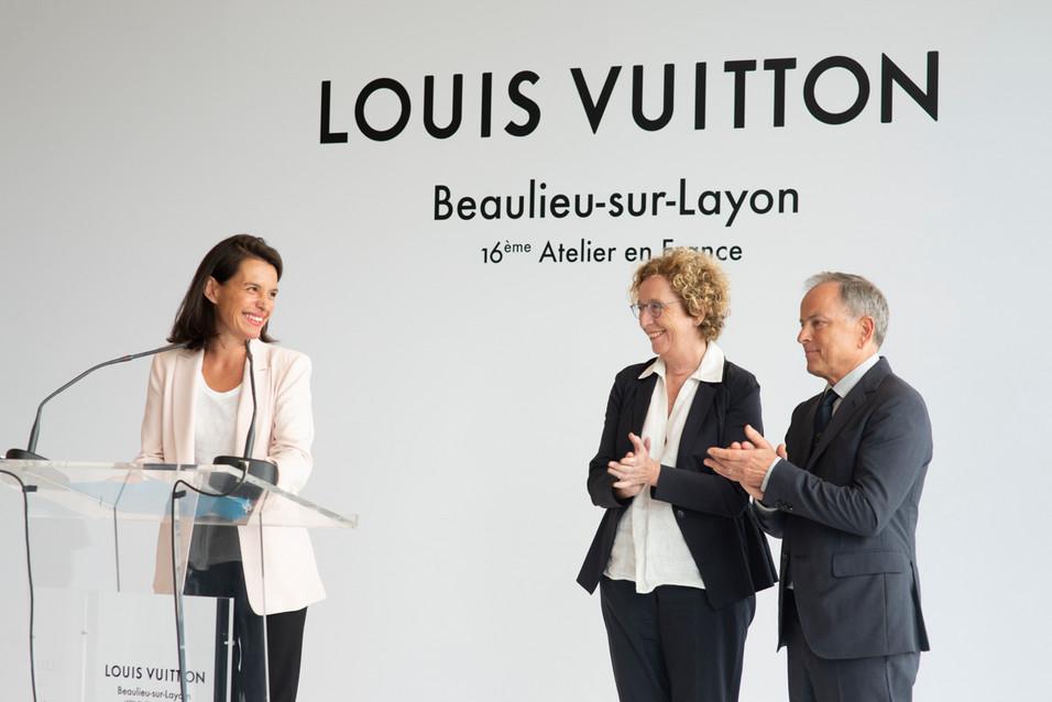 Christelle Morançais, Muriel Penicaud et Michaël Burke