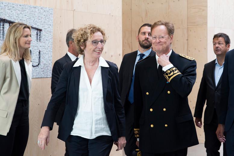 Muriel Penicaud et René Bidal