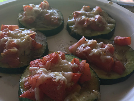 Delicious and Healthy Zucchini Pizza