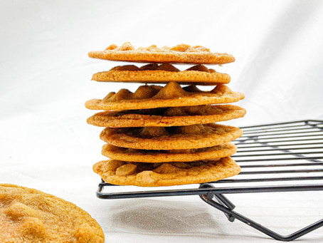 The BEST Chewy Butterscotch Cookies