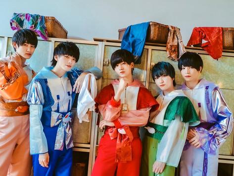 京都男子2nd Single「天上天下ぱらだいす/あやかし☆百鬼夜行」リリース決定!