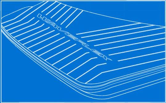 non-skid eva marine mat
