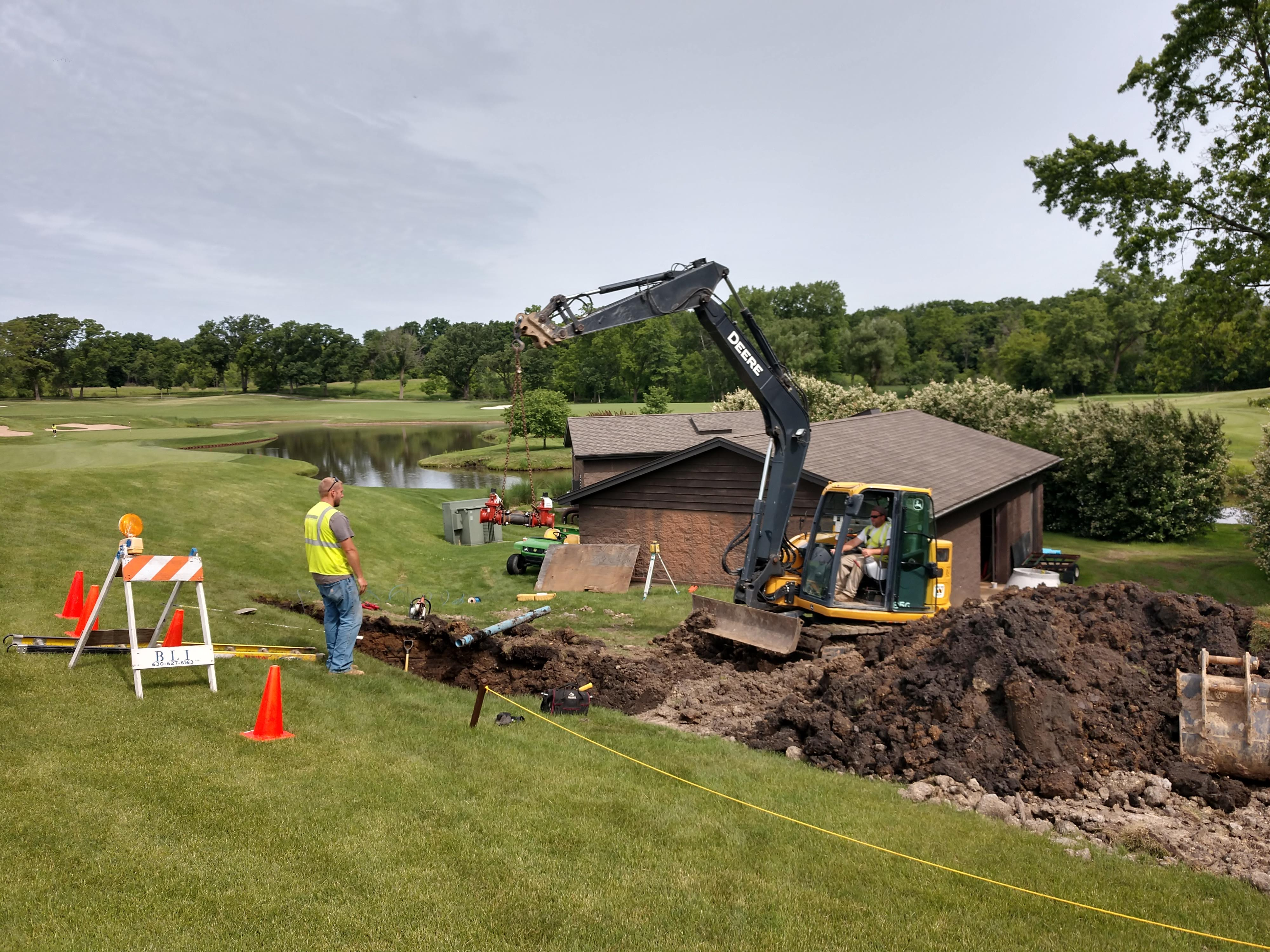3/4 Mile Water Main Installation