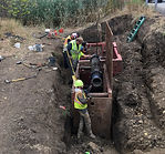Newberg Deep Watermain repair