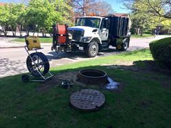 Newberg Construction Jet Rodding Truck