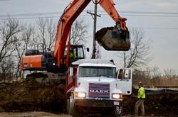 Mass Excavating Overburden