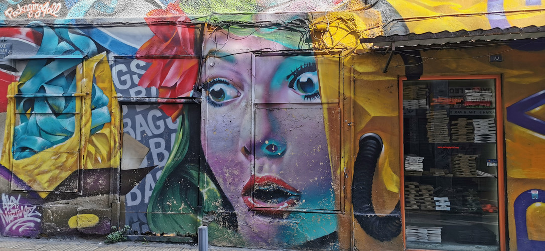 Graffiti Athens 2019