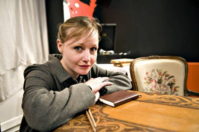 As Hélène Berr in A Confiscated Life 2010