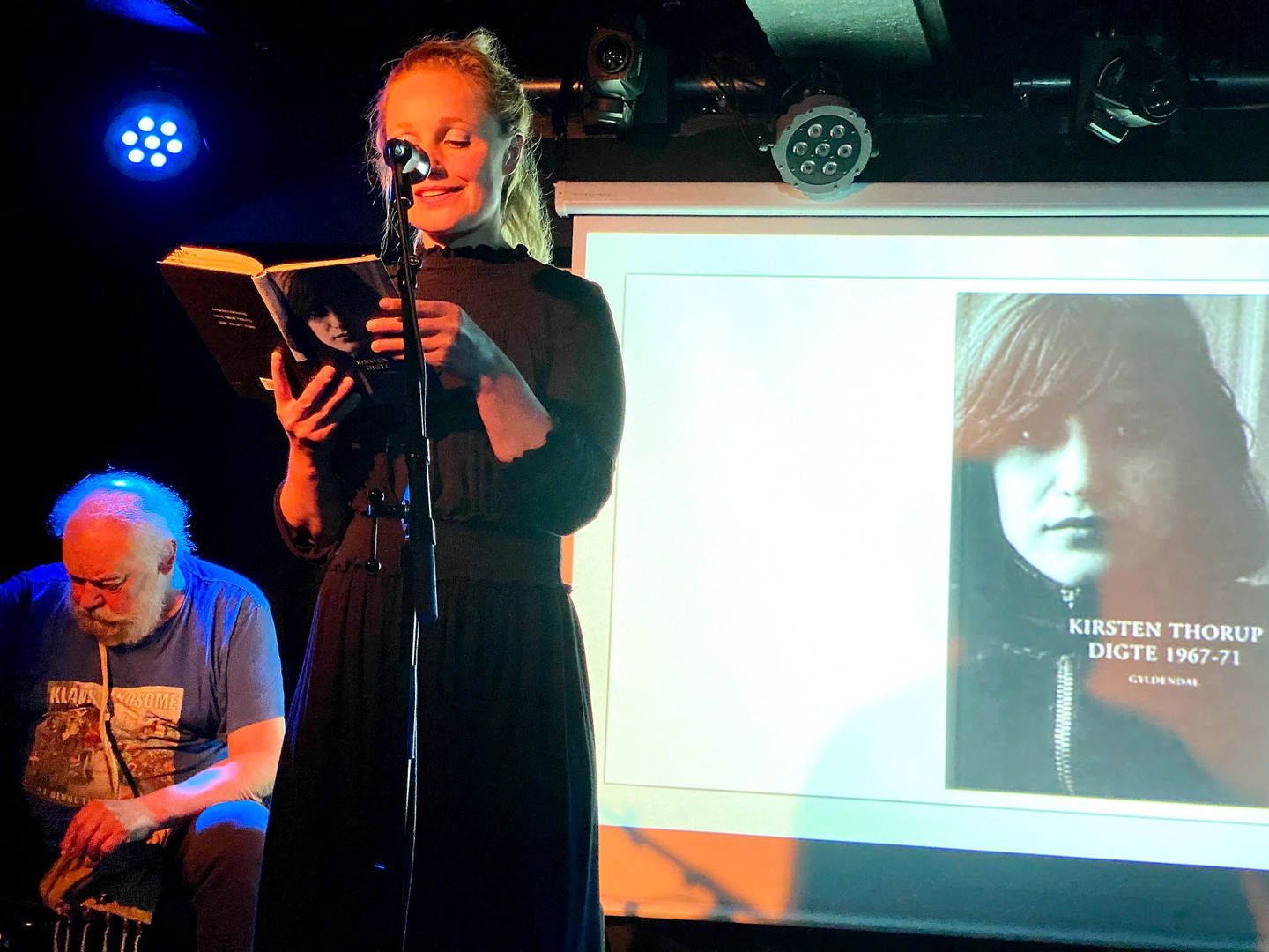HUSET-KBH, reading of poems by Kirsten T