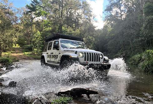Jeep Wrangler 4wd hire vehicle